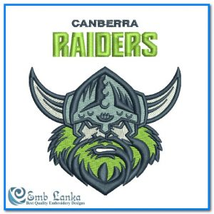 New Canberra Raiders Logo Embroidery Design Logos [tag]