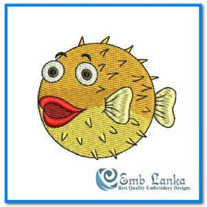 Cute Cartoon Puffer Fish 2 300x300, Emblanka