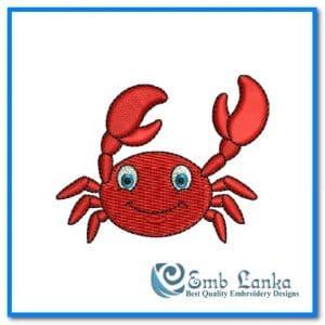 Cute Happy Crab 300x300, Emblanka