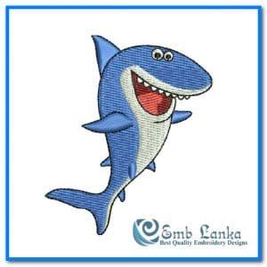 Happy Cute Cartoon Shark 300x300, Emblanka