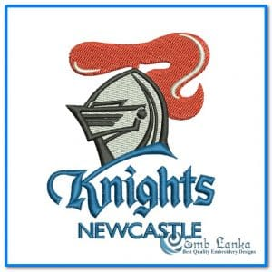 New Newcastle Knights Logo Embroidery Design Logos